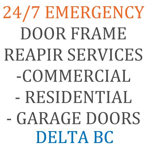 commerical door frame repair
